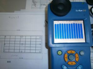 日影計測器日射時間