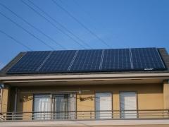 02 シャープブラックソーラー太陽光発電システム設置完了
