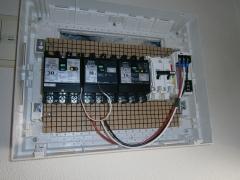 11 停電時には冷蔵庫とリビングに電気が供給されるように切替スイッチ